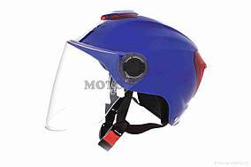 Шлем открытый  DAVID  (#308, с регулятором размера L-XXL, blue)