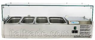 Витрина холодильная для топпинга Forcold G-VRX1200-380