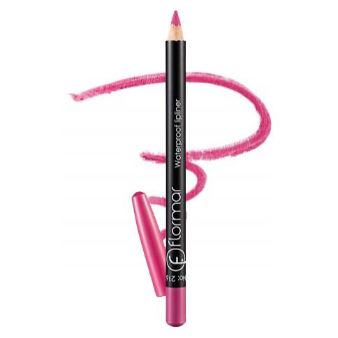 Олівець для губ водостійкий Flormar Waterpoof Lipliner № 216 Soft Pink (Ніжно рожевий) 1,7 г
