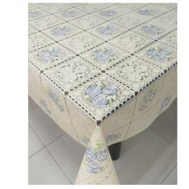 Клеенка виниловая ажурная с печатью 1,37*20м