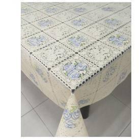 Клеенка виниловая ажурная с печатью 1,37*20м, фото 2