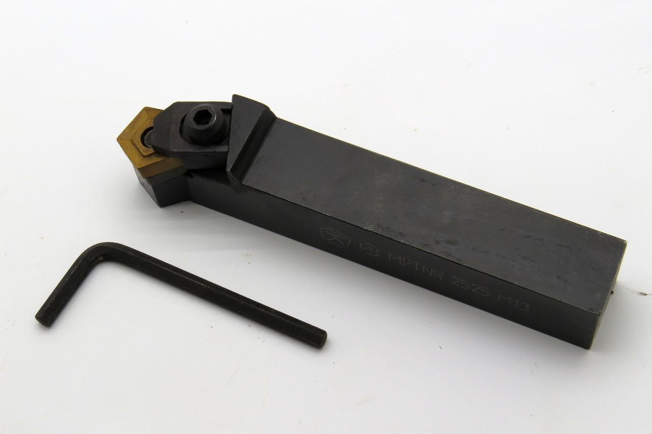 Резец токарный MPTNR2525 М13 механическое крепление пластин