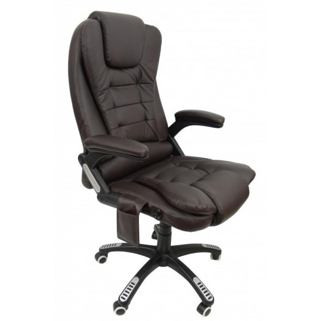Крісло Bonro M-8025 коричневе