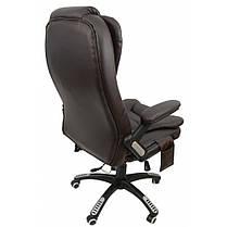 Крісло Bonro M-8025 коричневе, фото 3