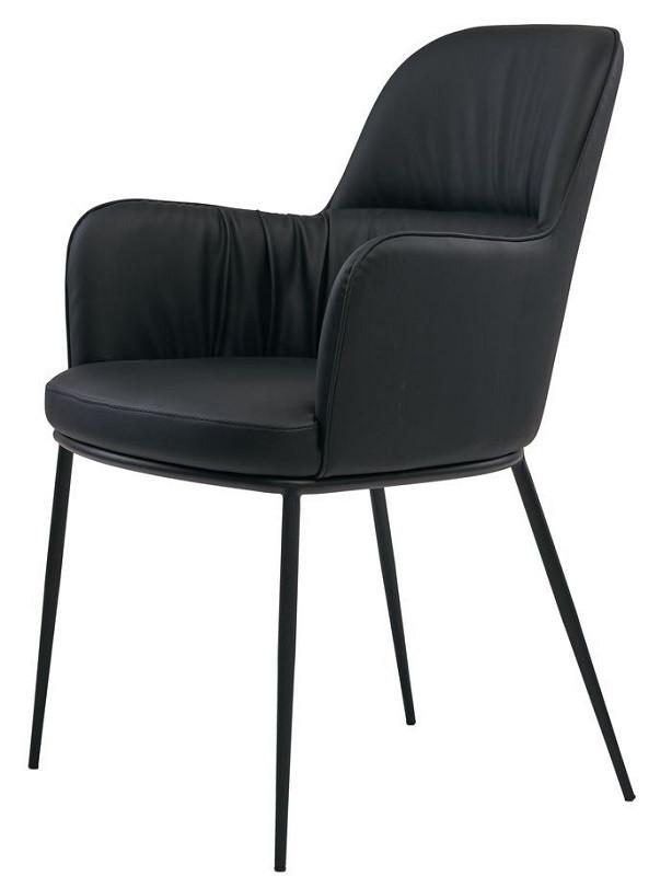 Кресло Sheldon черное (112832) экокожа Concepto