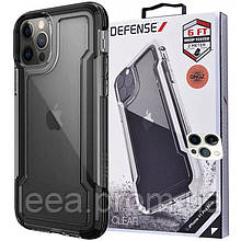Чехол Defense Clear Series (TPU+PC) для Apple