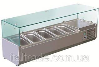 Витрина холодильная для топпинга Forcold G-VRX1400-330