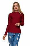 Женская футболка поло с длинным рукавом Много Цветов, фото 9