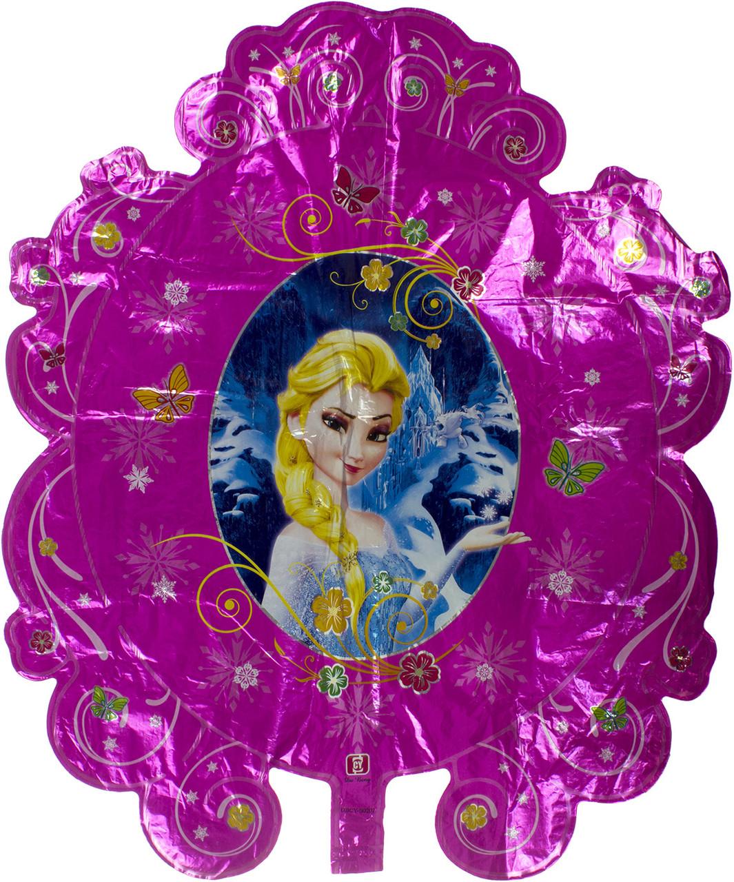 """Кулька повітр. фольгована """"Принц/Магічне дзеркало"""" №991192(10)"""