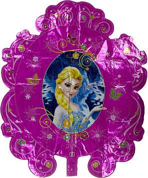 """Кулька повітр. """"Принц/Магічне дзеркало"""" фольга №991192(10)"""
