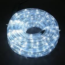 Светодиодная Гирлянда Дюралайт 20 м., белый с Переходником 220V, фото 2