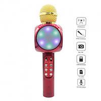 Микрофон-караоке портативный Wster WS-1816 Красный