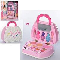 Набор детской косметики в Сумочке J-1050 лак, тени, румяна, помада, кисточки - Детская декоративная косметика