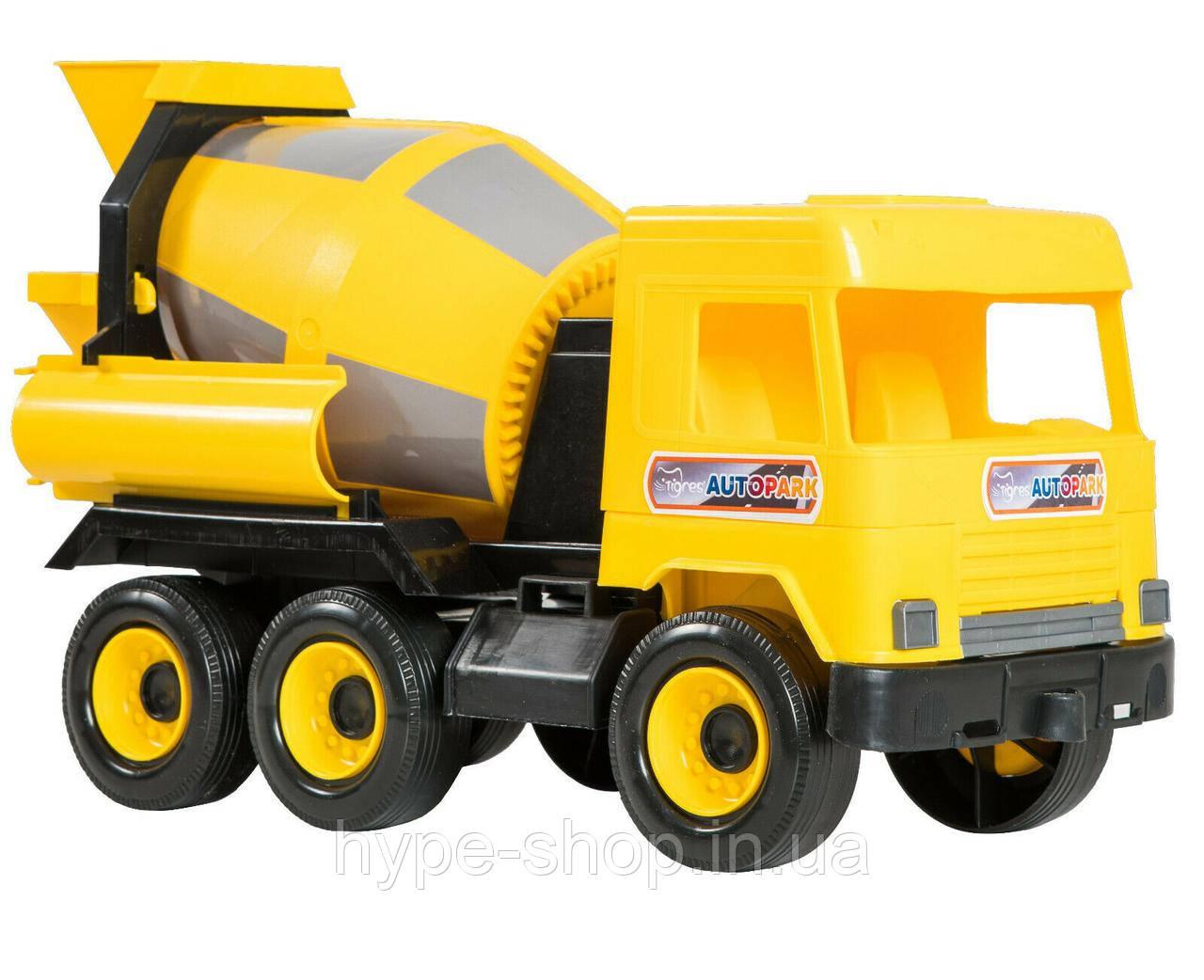 Самосвал Tigres Middle truck Желтый (39493)