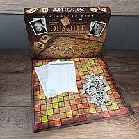 Настольная игра Эрудит для детей всей семьи подростков детская 8 10 лет 2в1 развивающие настольные игры