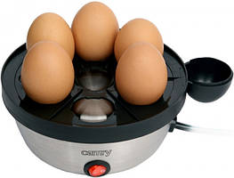 Яйцеварка электрическая на 7 яиц Camry CR-4482 350 Вт Silver/Black