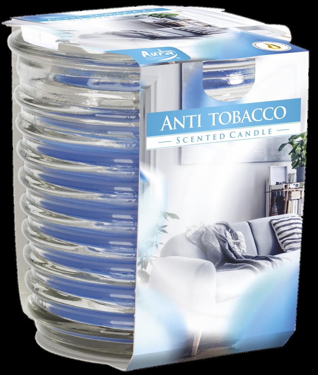Ароматическая свеча Bispol №SNW80-1-69 - Антитабак