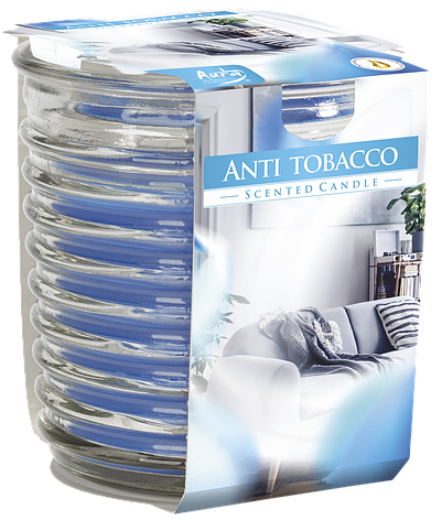 Ароматическая свеча Bispol №SNW80-1-69 - Антитабак, фото 2