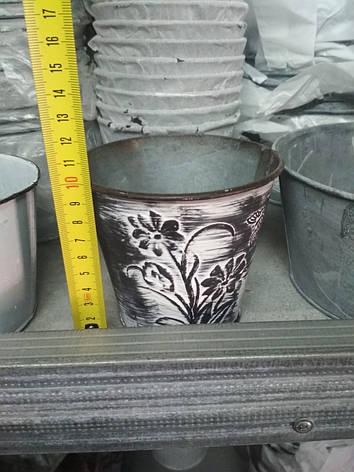 Декоративное флористическое кашпо №167712 10*7,5*11см, фото 2