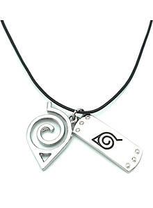 """Аксесуар Наруто: Кулон """"Прихований Лист"""", 44 см - Naruto Necklace"""