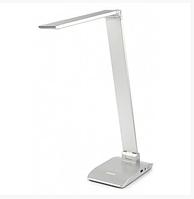 Лампа настольная светодиодная Tiross TS-1810 7W 48led Silver