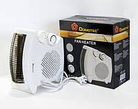Электро обогреватель 2000W, Тепловентилятор Domotec MS 5903, электрический дуйчик
