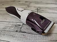 Машинка для стрижки GEMEI GM-6062 аккумуляторная с керамическими ножами, Триммер для стрижки волос