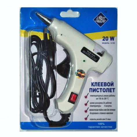 Клеевой пистолет ASK (термопистолет) - 7,5мм, 20W, фото 2