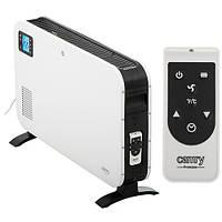 Обогреватель конвекционный с дистанционным управлением и LCD дисплеем Camry CR-7724 2300W Белый/Черный