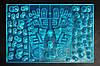Коврик массажный для стоп JOY синий MS-1300-5