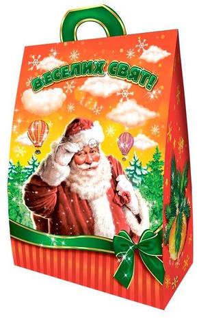 Новогодняя подарочная коробочка для конфет и сладостей 400-500гр №29 100шт/уп, фото 2