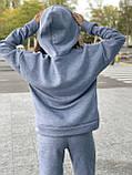 Женский прогулочный костюм на флисе морская волна, лиловый, горчица, серый, мокко, беж 42-44, 46-48, 50-52, фото 9
