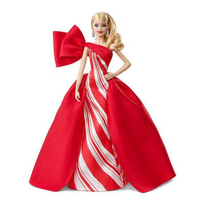 Кукла Барби Коллекционная Праздничная 2019 Блондинка Barbie 2019 Holiday Blonde
