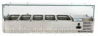 Витрина холодильная для топпинга Forcold G-VRX1400-380