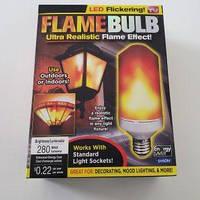 Светодиодная лампа мерцающего огня Bell + Howell