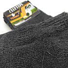 Носки мужские махровые рубчик термо высокие Новая Линия 25р черные 20035914, фото 4