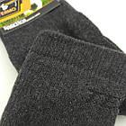 Носки мужские махровые рубчик термо высокие Новая Линия 25р черные 20035914, фото 3