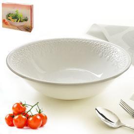 Блюдо сервировочное керамика глубокое 32.5*10см