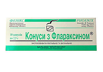 Свечи с флараксином Феникс (Украина Харьков)