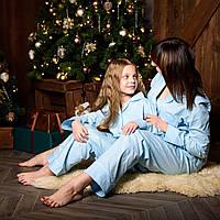 Пижама женская премиум HITON, размеры XS, S, M, L, XL, XXL, 3XL