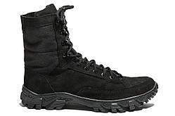 Берци Strongboots Скорпіон демісезонні шкіра нубук Чорні 5154-5-2 (40-46)
