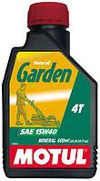 Моторное масло Motul GARDEN 4T SAE 15W40, 0,6L