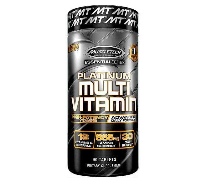 Витамины Platinum Multi Vitamin Muscletech (90 tab)