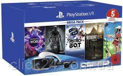 Sony Playstation PS4 VR Mega Pack GOGLE KAMERA + 5 GIER