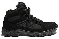 Ботинки Strongboots Тайфун демисезонные кожа нубук/кордура Черные 5154-2-3 (36-46)