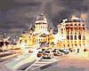 """Картина по номерам. Brushme """"Свет ночного города"""" GX35213"""