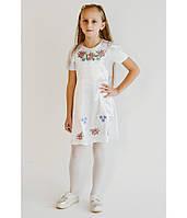 Детские вышитые платья для девочек от производителя ЕтноМодерн M-801-3