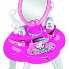Дитячий столик з дзеркалом Smoby Toys Hello Kitty 2 в 1 з аксесуарами, фото 3