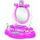 Дитячий столик з дзеркалом Smoby Toys Hello Kitty 2 в 1 з аксесуарами, фото 4
