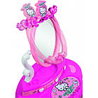 Детский столик с зеркалом Smoby Toys Hello Kitty 2 в 1 с аксессуарами, фото 5